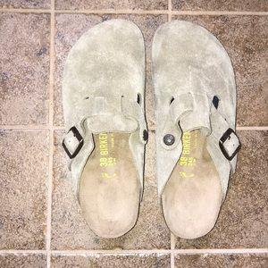 Birkenstock clogs. Never worn. Brand new.